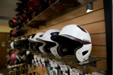 Helmet Wall Pic